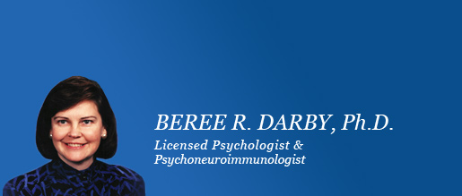Dr. Beree Darby Psychologist and Psychoneuroloimmunologist